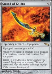 Sword of Kaldra - Foil on Channel Fireball
