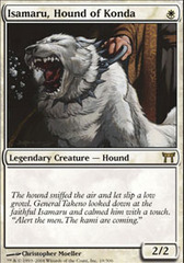 Isamaru, Hound of Konda - Foil on Channel Fireball