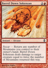 Barrel Down Sokenzan - Foil on Channel Fireball