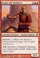 Iizuka the Ruthless - Foil