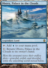 Oboro, Palace in the Clouds - Foil on Channel Fireball