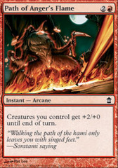 Path of Anger's Flame - Foil