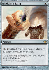 Aladdin's Ring - Foil on Channel Fireball