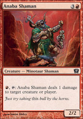 Anaba Shaman - Foil on Channel Fireball