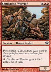 Sandstone Warrior - Foil