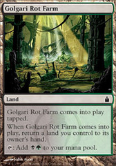 Golgari Rot Farm - Foil on Ideal808