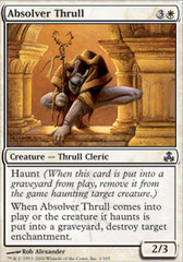 Absolver Thrull - Foil on Channel Fireball
