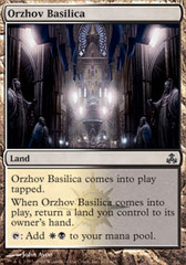 Orzhov Basilica - Foil on Channel Fireball