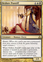 Orzhov Pontiff - Foil on Channel Fireball