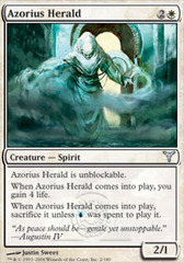 Azorius Herald - Foil on Channel Fireball