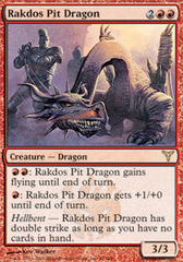 Rakdos Pit Dragon - Foil on Channel Fireball