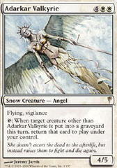 Adarkar Valkyrie - Foil on Channel Fireball