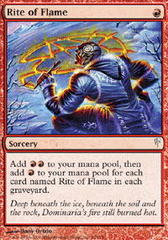 Rite of Flame - Foil on Channel Fireball