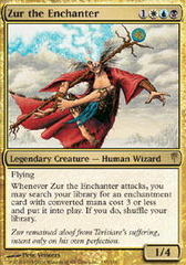 Zur the Enchanter - Foil on Channel Fireball