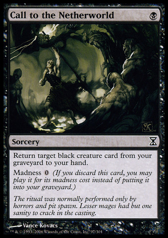 Call to the Netherworld - Foil