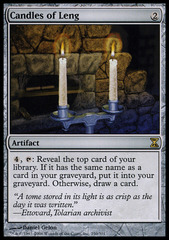 Candles of Leng - Foil on Channel Fireball