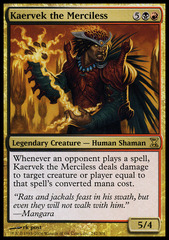Kaervek the Merciless - Foil