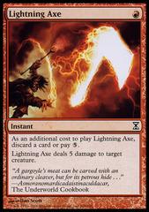 Lightning Axe - Foil