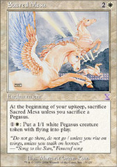 Sacred Mesa - Foil on Channel Fireball