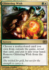 Glittering Wish - Foil on Channel Fireball