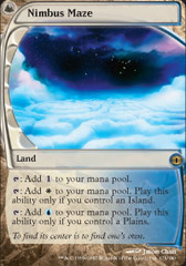 Nimbus Maze - Foil on Channel Fireball