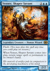 Venser, Shaper Savant - Foil on Channel Fireball