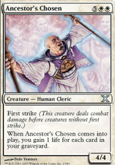 Ancestor's Chosen - Foil on Ideal808