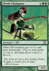 Elvish Champion - Foil on Channel Fireball