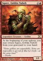 Squee, Goblin Nabob - Foil on Channel Fireball