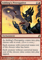 Ashling's Prerogative - Foil on Channel Fireball