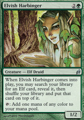 Elvish Harbinger - Foil on Ideal808