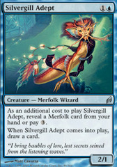 Silvergill Adept - Foil on Channel Fireball