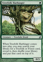 Treefolk Harbinger - Foil on Ideal808