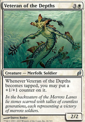 Veteran of the Depths - Foil