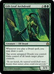 Gilt-Leaf Archdruid - Foil on Channel Fireball