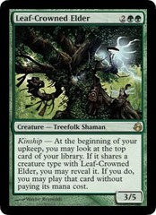 Leaf-Crowned Elder - Foil on Channel Fireball