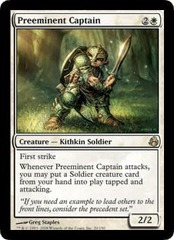 Preeminent Captain - Foil on Channel Fireball