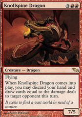 Knollspine Dragon - Foil on Channel Fireball