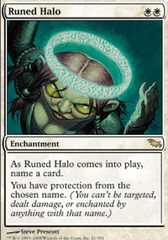 Runed Halo - Foil on Channel Fireball
