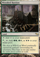 Wooded Bastion - Foil on Ideal808