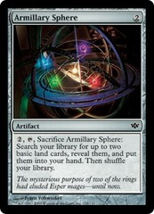 Armillary Sphere - Foil on Channel Fireball