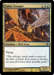 Talon Trooper - Foil on Channel Fireball