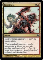 Terminate - Foil on Channel Fireball