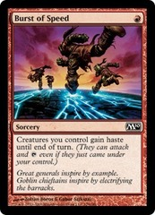 Burst of Speed - Foil