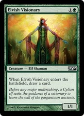 Elvish Visionary - Foil on Ideal808