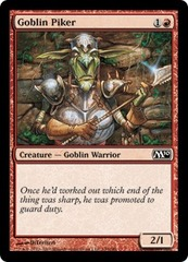 Goblin Piker - Foil on Ideal808