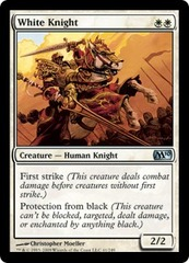 White Knight - Foil on Ideal808
