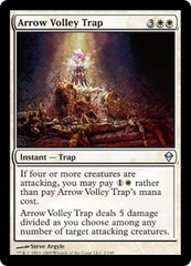 Arrow Volley Trap - Foil on Channel Fireball