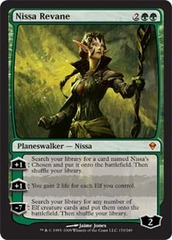 Nissa Revane - Foil on Channel Fireball