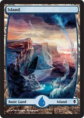 Island (236) - Full Art - Foil on Channel Fireball